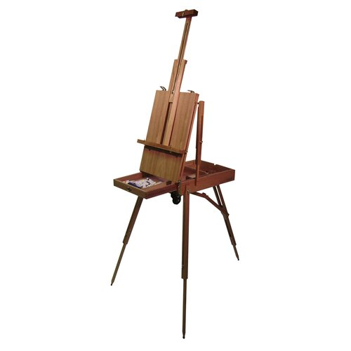 Martin Universal Design Rivera French Full Size Sketch Box with Wooden Easel in Elm