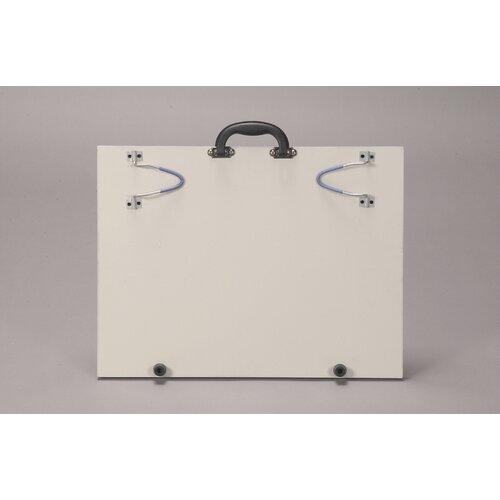 "Martin Universal Design Portable Art Studio 1' 4"" x 1' 9"" Whiteboard"