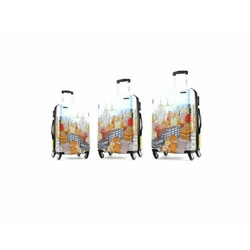 Cityscape 3 Piece Nesting Spinner Luggage Set