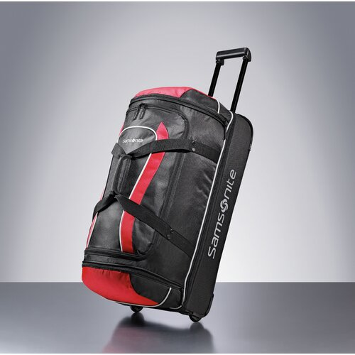 "Samsonite Andante 28"" Drop Bottom Wheeled Duffel"