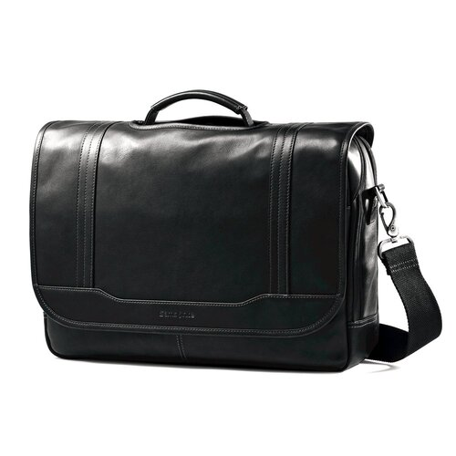 Samsonite Colombian Leather Laptop Briefcase