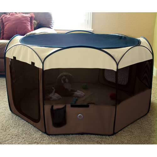 Ware Mfg Delux Pop-Up Dog Pen