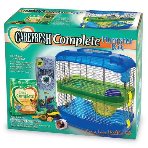 Ware Manufacturing Carefresh Hamster Cage Kit