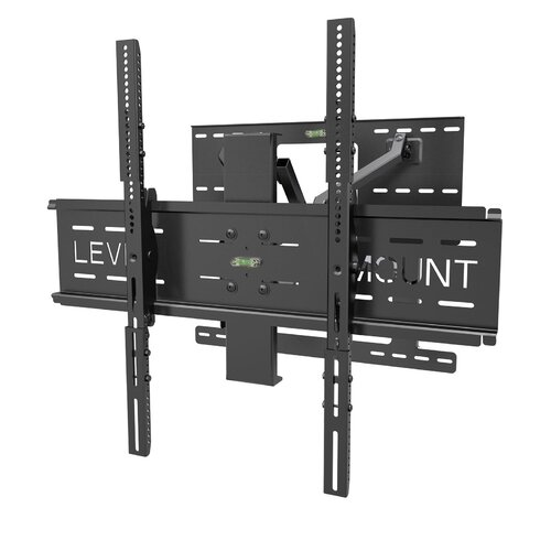 "Level Mount Cantilever Deluxe Swivel/Tilt/Extending Arm Wall Mount for 37"" - 85"" Flat Panel Screens"