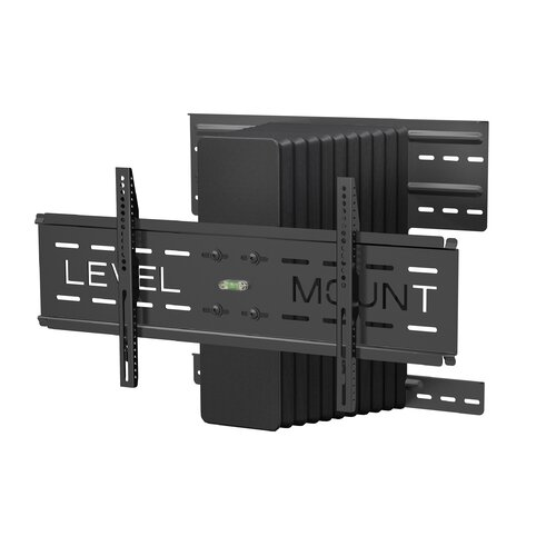 "Level Mount Motorized Full Motion Fixed Wall Mount for 37"" - 85"" Flat Panel Screens"