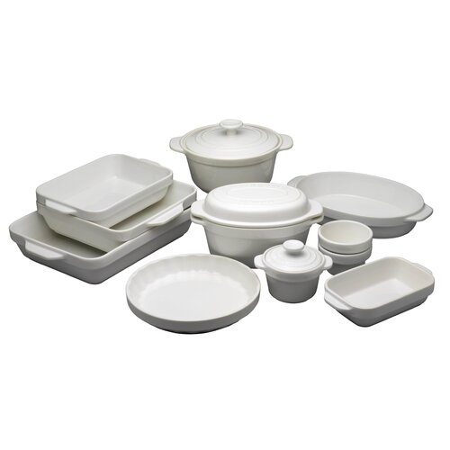 Raymond Blanc White Stoneware 25cm Square Dish Try Me