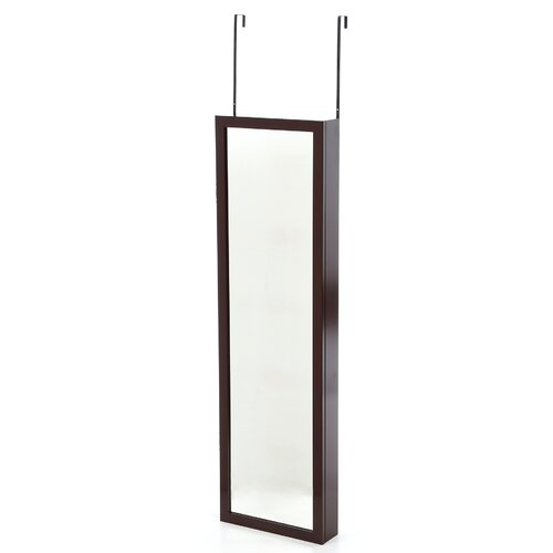 Mirrotek Wall Mounted Jewelry Armoire with Mirror II