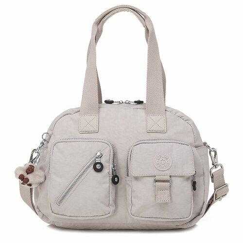 Kipling Basic Soild Defea Satchel Bag