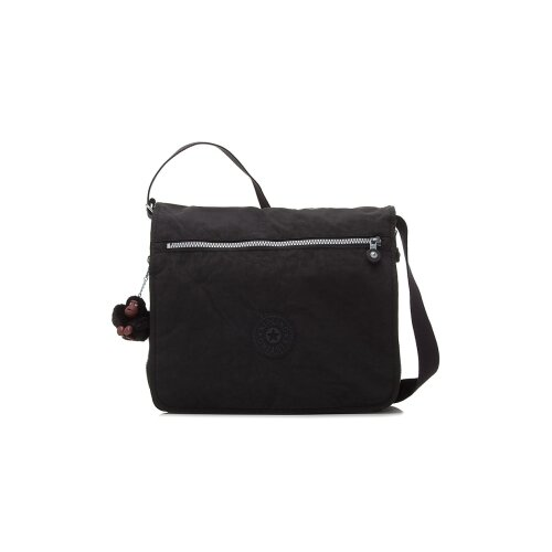 Basic Solid Messenger Bag