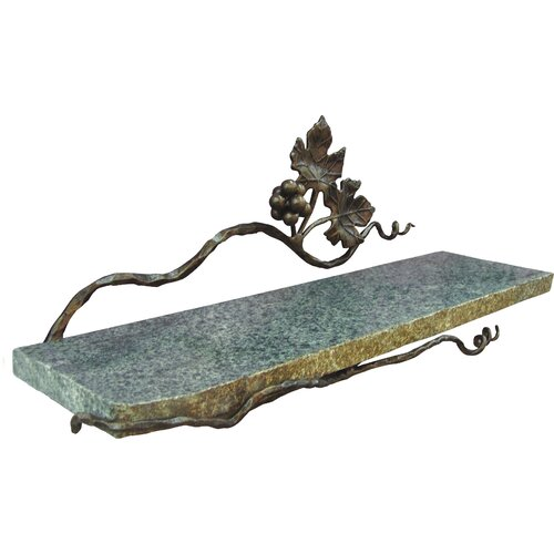 "Quiescence Vineyard 20"" x 6"" Bathroom Shelf"