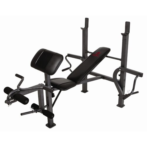 Standard Adjustable Olympic Bench with Butterfly