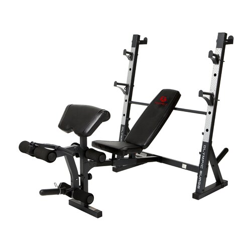 Adjustable Olympic Bench