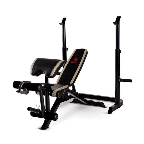 Marcy Adjustable Olympic Bench Reviews Wayfair