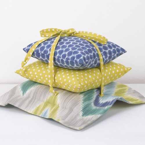 3 Piece Zebra Romp Pillow Set