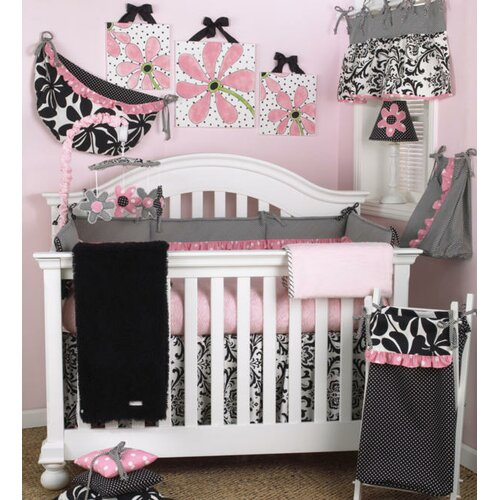 Cotton Tale Girly Crib Sheet