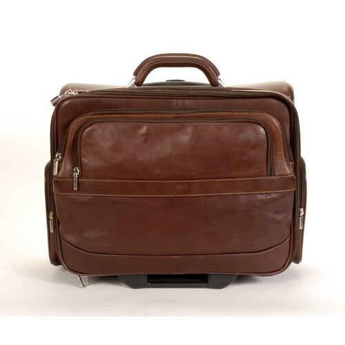Green Executive Leather Laptop Catalog Case