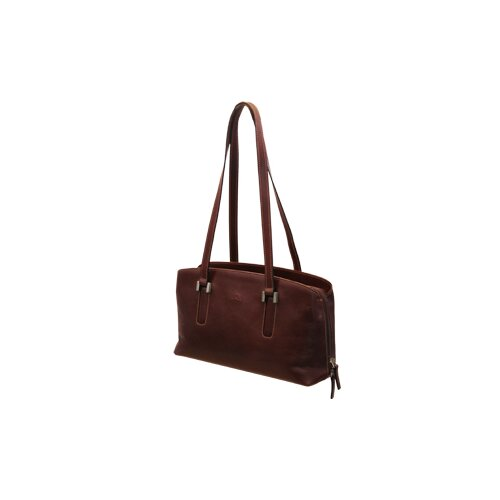 Tony Perotti Green Ferrara Multi-Gusset Tote Bag