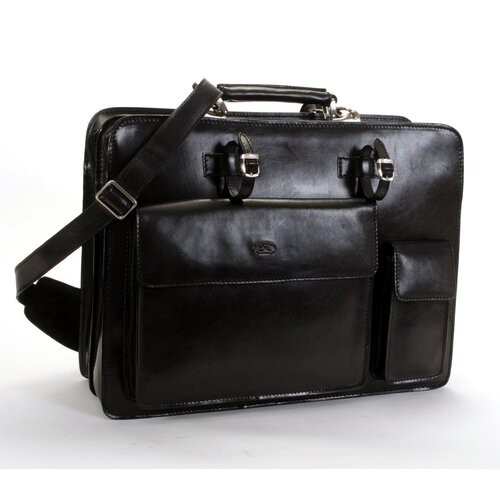 Italico Primo Leather Laptop Briefcase