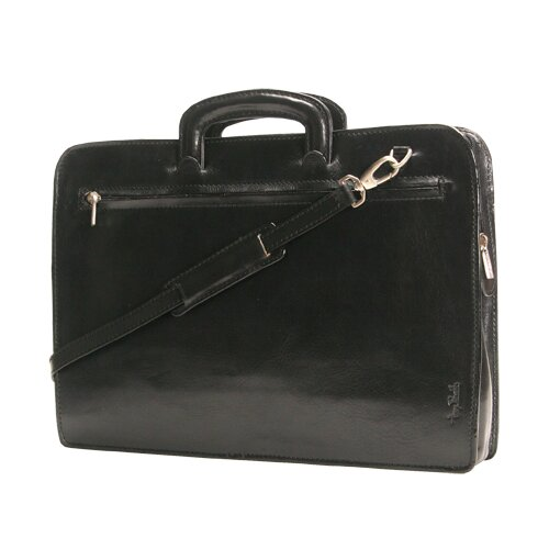 Tony Perotti Italico Arezzo Portfolio Leather Laptop Briefcase