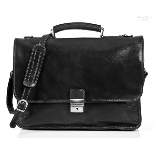 Tony Perotti Torino Leather Laptop Briefcase