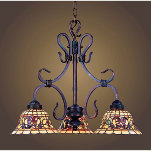 tiffany style dining room lighting wayfair. Black Bedroom Furniture Sets. Home Design Ideas