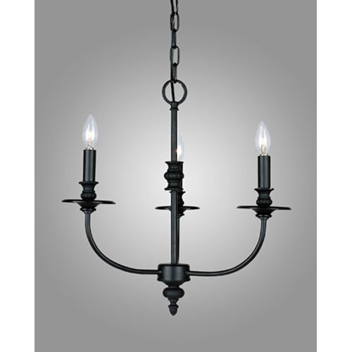 Dimond Lighting Hartford 3 Light Mini Chandelier