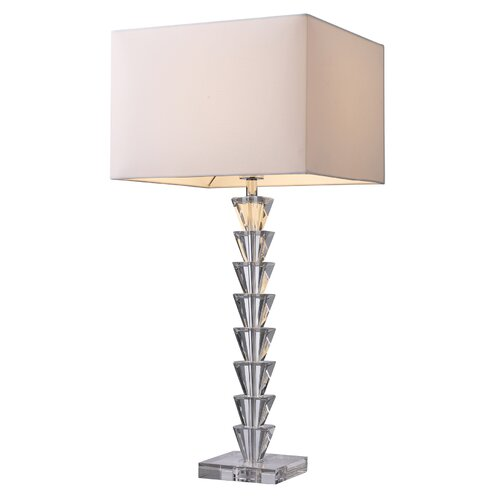 "Dimond Lighting Trump Home Fifth Avenue 29"" H Table Lamp with Rectangle Shade"