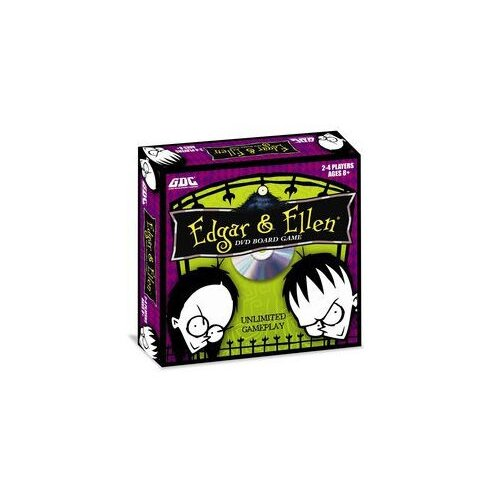 GDC-GameDevCo Ltd. Edgar & Ellen DVD Board Game