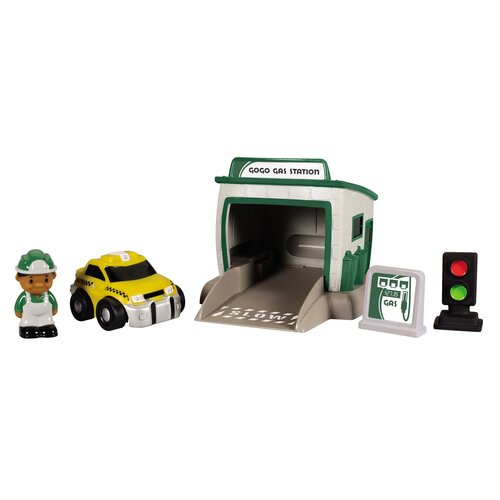 GoGo City Gas Station Playset