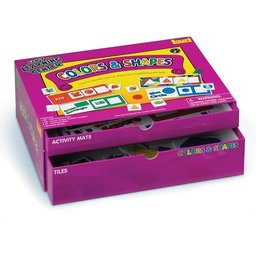 Colors and Shapes Early Learning Center Kit
