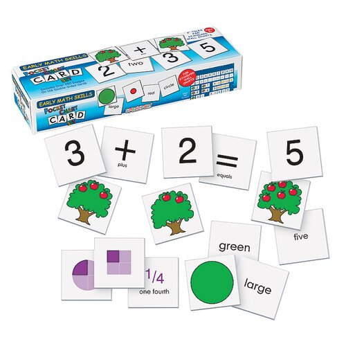 Patch Products Early Math Skills Wall Pocket Chart Card Set