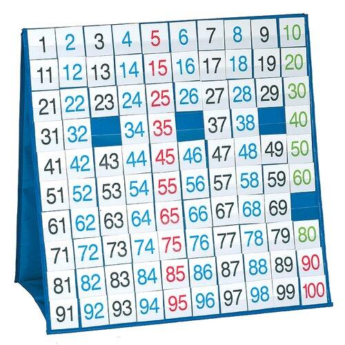 100 Board Tabletop Pocket Chart