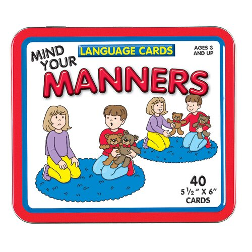 Patch Products Mind Your Manners Language Cards