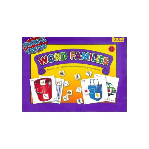 Patch Products Word Families Phonics Learning