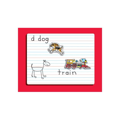 Patch Products Dry Erase Lined Whiteboard