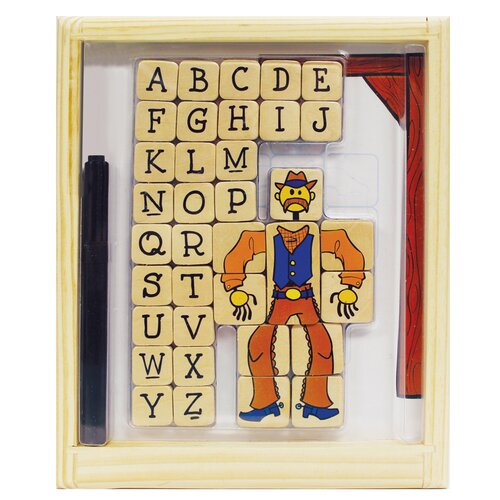 Patch Products Wood Hangman Magnetic Game