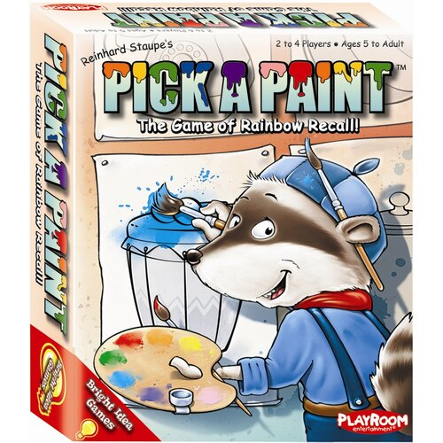 Bright Idea Pick A Paint Games