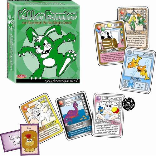 Playroom Entertainment Killer Bunnies Quest Green Booster Games