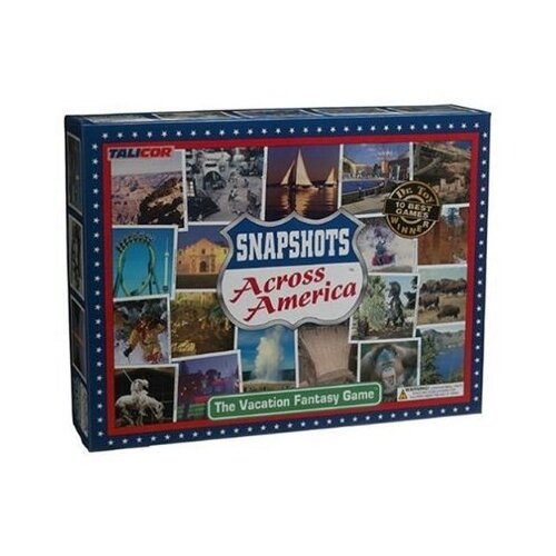 Family Games Snapshots Across America Board Game