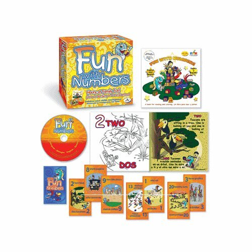 Family Games Fun with Numbers Board Game
