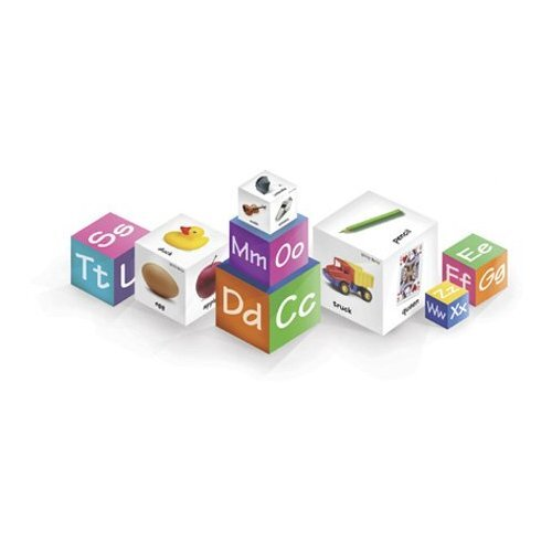 Talicor Family Games Brainy Baby Alpha Blocks Board Game