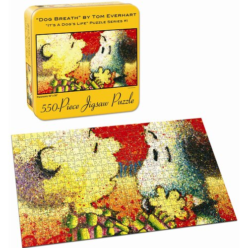USAopoly Snoopy / Ever Dog Breath Puzzle