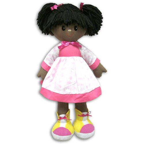 Well Made Toys Boots African American Rag Doll