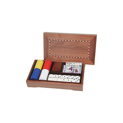 Wood Expressions 5-in-1 Combination Game Set