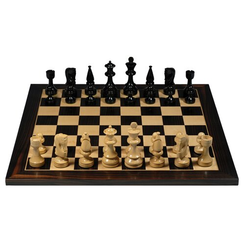 Wood Expressions Russian Chess Set