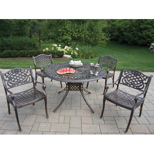 Oakland Living Capitol Mississippi 5 Piece Dining Set