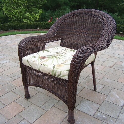 Oakland Living Resin Wicker Chair (Set of 2)