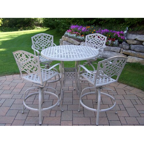 Elite Mississippi 5 Piece Swivel Bar Set