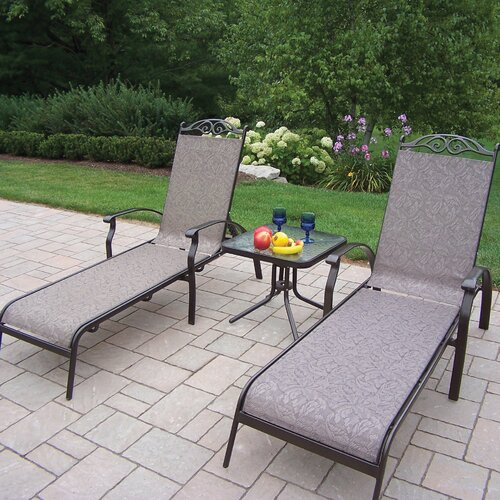 Cascade 3 Piece Lounge Seating Set