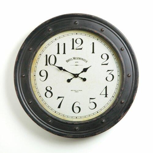 Hotel Duvaleix Wall Clock